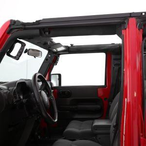 SmittyBilt O.E. Style Door Surrounds For 2007-18 Jeep Wrangler JK 2 Door Models 91405