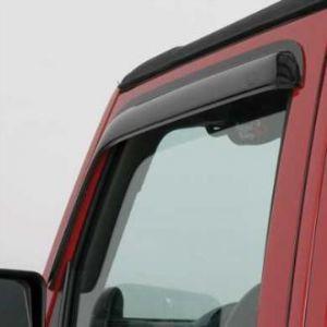 Auto Ventshade Ventvisors (2 Piece Kit) In Smoked Black For 2007-18 Jeep Wrangler JK Models 92328