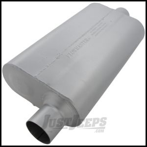 FlowMaster 50 Series Delta Flow Aluminized Steel Muffler For 1979-86 Jeep CJ Series 942551
