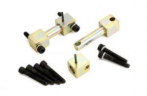 JKS Manufacturing Rear Bar Pin Eliminators For 1984-06 Jeep Cherokee XJ, Wrangler TJ & Unlimited Models 9604