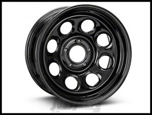 Pro Comp 97 Rock Crawler Series Wheel 17x8.0 With 5 On 5.00 Bolt Pattern & 4.25 Backspace In Gloss Black PCW97-7873