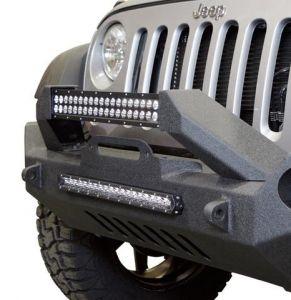 DV8 Offroad FS-17 Hammer Mid Width Front Bumper for 07-20+ Jeep Wrangler JL, JK & Gladiator JT FBSHTB-17