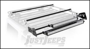 SmittyBilt Defender Rack Light Bar Mount Kit For 5' Wide Racks D8085