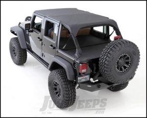 SmittyBilt Summer Top Bundle in Black Diamond For 2007-09 Jeep Wrangler JK Unlimited 4 Door Models SEALJK0709435