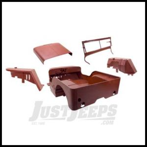 Omix-ADA Body Tub Kit Steel For WILLYS MB 41-42 (3/1/42) Includes body tub, hood, 2 fenders and windshield frame 12001.03