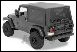 BESTOP Supertop NX Soft Top With Tinted Windows In Black Diamond For 2004-06 Jeep Wrangler TLJ Unlimited Models 54721-35