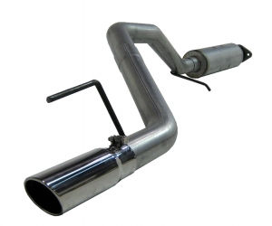MBRP XP Series T-409 Stainless Steel Cat Back Exhaust System For 2005-08 Jeep Grand Cherokee WK Models S5508409