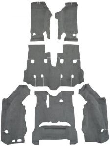 Auto Custom Carpets Complete Replacement Cutpile Carpet Kit for 07-10 Jeep Wrangler JK Unlimited 23539-