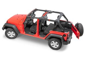 Auto Custom Carpets Complete Replacement Cutpile Carpet Kit for 11-18 Jeep Wrangler JK Unlimited 23235JKU-