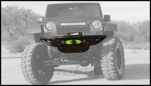 Addictive Desert Designs Venom Front Bumper With Winch Mount In Black For 2007-18 Jeep Wrangler JK 2 Door & Unlimited 4 Door Models F952271370103