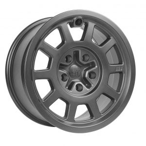 AEV Salta Wheels 17 x 8.5 Onyx For 2007-18 Jeep Wrangler JK 2 Door & Unlimited 4 Door +10mm offset 20403016AB