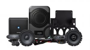 Alpine PSS21WRA Full Sound System Upgrade For 2015-18 Jeep Wrangler JK Unlimited 4 Door Models PSS-21WRA
