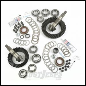 Alloy USA Front & Rear Ring & Pinion 5.13 Gear Ratio Kit For 2007-18 Jeep Wrangler & Wrangler Unlimited JK Non-Rubicon Models With Front Dana 30 Axle 360004