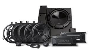 Alpine Waterproof Full Sound System Upgrade for 11-18 Jeep Wrangler Unlimited JK PSS-22WRA