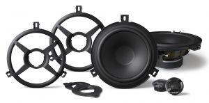 Alpine Component 2 Way Speaker System (SoundBar/Knee Panel) For 07-18 Jeep Wrangler JK SPV-65X-WRA