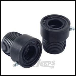 Alloy USA Axle Tube Seals Black For 1984-06 Jeep Models With 27 Spline Dana 30 Front Axles 11103