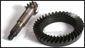Alloy USA 4.56 Ring & Pinion Set For 1992-06 Jeep Cherokee XJ & Wrangler TJ Models With Low Pinion Dana 30 Front Axle D30456TJ