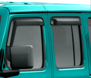 Mopar Side Window Air Deflectors For 2018+ Jeep Gladiator JT & Wrangler JL 2 Door & Unlimited 4 Door Models 82215368