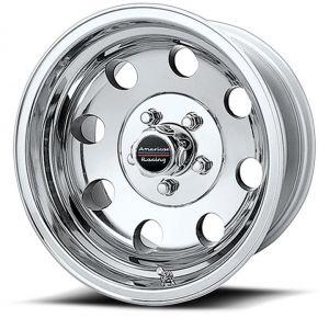 American Racing AR172 Baja 17x9 Polished Wheel AR1727973