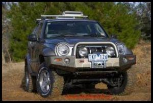 ARB Deluxe Bull Bar Front Bumper For 2005-06 Jeep Liberty KJ Models 3450170