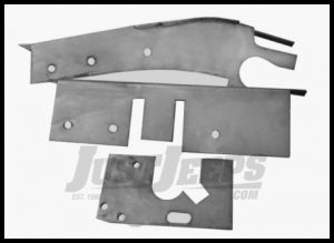 Auto Rust Technicians Frame Section at Fuel Tank Driver Side For 1966-87 Jeep Full Size 043-L