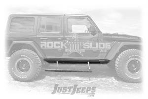Rock Slide Engineering Gen II Steps Sliders For 2018 Jeep Wrangler JL Unlimited 4 Door Models BD-SS-200-JL4