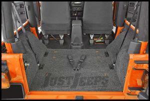 BedRug Rear 5 Piece Cargo Kit Includes Tailgate & Tub Liner For 2011-18 Jeep Wrangler JK 2 Door Models BRJK11R2