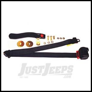 Omix-ADA Seat Belt Front 3 Point Shoulder Harness For 1982-86 Jeep CJ7 CJ8 And 1987-95 Wrangler YJ 13202.01