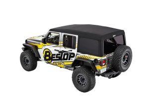 BESTOP Supertop Ultra For 2018+ Jeep Wrangler JL Unlimited 4 Door Models 54725-17