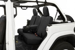 BESTOP Rear Seat Cover With Armrest For 2018+ Jeep Wrangler JL Unlimited 4 Door Models 29291-
