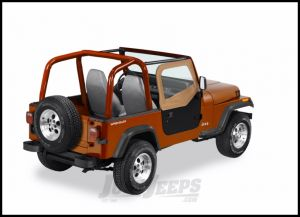 BESTOP Soft Upper Doors For Use With BESTOP Soft Tops Only In Spice Denim For 1988-95 Jeep Wrangler YJ Models 51780-37