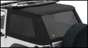 BESTOP Tinted Window Kit For BESTOP Trektop NX In Black Twill For 2007-18 Jeep Wrangler JK 2 Door Models 58422-17