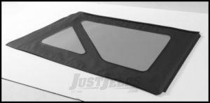 BESTOP Tinted Window Kit For BESTOP Sunrider Soft Top In Black Denim For 1976-95 Jeep Wrangler YJ & CJ7 58698-15