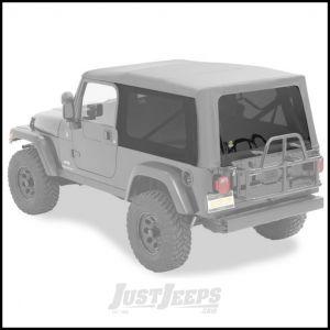 BESTOP Tinted Window Kit For BESTOP Supertop NX In Black Diamond For 2004-06 Jeep Wrangler TLJ Unlimited 58710-35