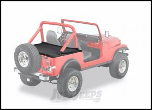 BESTOP Duster Deck Cover With Mounting Hardware Kit In Black Denim 1987-91 Wrangler YJ 90005-15