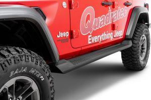 Black Horse Offroad OE Style Jeep Running Boards for 18+ Jeep Wrangler JL Unlimited 4-Door RJEWRJL