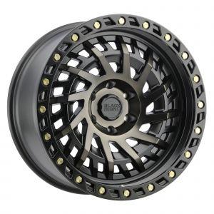 Black Rhino Shredder Wheel for 07-21 Jeep Wrangler JL, JK & Gladiator JT SHREDDER