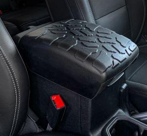 Boomerang Enterprises Tire Tread ArmPad Rest for 18+ Jeep Wrangler JL & 20+ Gladiator JT AP-JL-2018