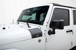 Bushwacker Trail Armor Cowl Guards For 2018+ Jeep Gladiator JT & Wrangler JL 2 Door & Unlimited 4 Door Models