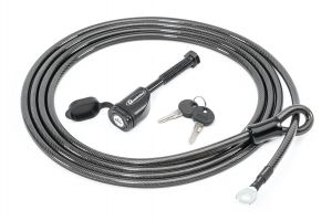 Quadratec Locking Bicycle Cable with Hitch Pin for Quadratec Bike Racks 92034.1911