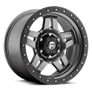 Fuel Off-Road D558 Anza Wheel In Matte Anthracite w/ Black Ring 17x8.5 with 4.5in Backspace D55817857345
