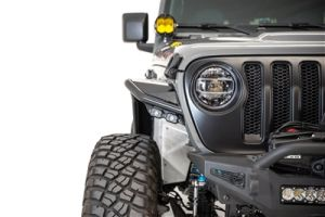 Addictive Desert Designs Stealth Fighter Front Fenders For 2018+ Jeep Wrangler JL, JLU