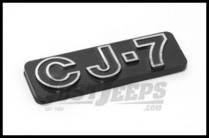 Omix-ADA CJ7 Emblem Stick On For 1976-86 Jeep CJ7 Official MOPAR Licensed Product DMC-5457017