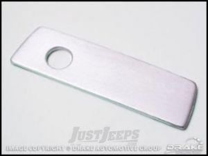 Drake Off Road Billet Aluminum Glove Box Handle Cover For 2007-18 Jeep Wrangler JK 2 Door & Unlimited 4 Door D-JP-180001-AL