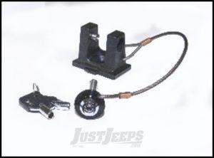 Drake Off Road Hood Hold Down Locking Hood Pin Upgrade For 2007-18 Jeep Wrangler JK 2 Door & Unlimited 4 Door D-JP-190001-LKCNV