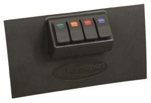 Daystar Lower Dash Vent Switch Panel For 2007-10 Jeep Wrangler JK 2 Door & Unlimited 4 Door Models With Automatic Transmission KJ71040BK