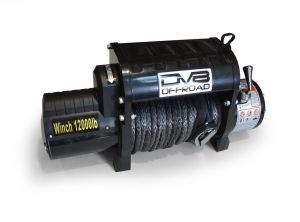 DV8 Offroad 12,000lbs Winch with Synthetic Line WB12SR