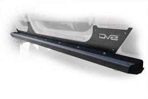 DV8 Offroad Body & Frame Mounted Sliders For 2007-18 Jeep Wrangler JK Unlimited 4 Door Models SRSOTB-13