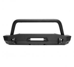 Westin WJ2 Stubby Front Bumper w/ Bull Bar For 2018+ Jeep Gladiator JT & Wrangler JL 2 Door & Unlimited 4 Door Models 59-80075