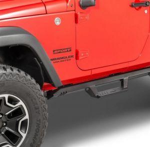 N-FAB EpYx Side Steps for 07-18 Jeep Wrangler JK 2-Door EXJ072-TX